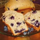Blueberry Bread I - This recipe makes a simple, sweet blueberry quick bread with walnuts. It yields one extra-large loaf, or two smaller ones.