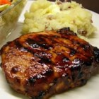 Grilled Mongolian Pork Chops - These sweet and tangy grilled pork chops are marinated in a flavorful combination of peppers and spices.