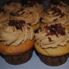 Peanut Butter Bacon Cupcake