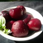 Beets on the Grill - I couldn't decide what to do with all the beets, so I tossed them onto the grill.