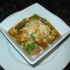 Mexican Pork and Green Chile Stew - Lean pork simmers in a stew with tomatoes, green chiles, onion, garlic, and cilantro in this version of a traditional Mexican dish.