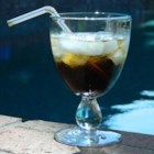 Black Russian Cocktail - The black Russian gets its name from the use of the quintessential Russian spirit, vodka, and the darkness the drink has from the addition of coffee liqueur.