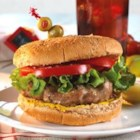 Actually Delicious Turkey Burgers - Turkey burgers are a delicious change of pace. Slap these moist patties on the grill for a special summer treat!