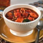 Quick Country Cupboard Soup - A family favorite recipe that is very quick, when time is short and leftovers are plenty.  This may also be made in a slow cooker. I like to add zucchini, peas, corn or any leftover 'soup friendly' veggie.