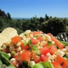 Steph's Summer Salsa - Reds, yellows and greens are mixed together in this vibrant, flavorful salsa that perfectly captures the essence of summer.