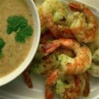 Grilled Prawns with a Spicy Peanut-Lime Vinaigrette - The flavors of Thailand come together in this amazing appetizer.