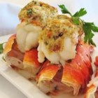 Crab-Stuffed Lobster Tail - Lobster tails topped with crab dressing make an exquisite but surprisingly simple meal for two. Serve with fresh lemon wedges.