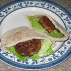 BBQ Tuna Fritters - A fun way to make canned tuna taste less like canned tuna. These thin tuna patties are tasty enough to be eaten plain or in a pita pocket with lettuce and tomato.
