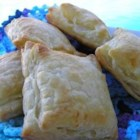 Pasteles De Coco (Coconut Pastries) - Use prepared, frozen puff pastry to create crisp, buttery pastries with a sweetened coconut filling to make a Cuban-style treat discovered in Miami.
