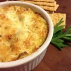 Denny's Amazing Five Minute Asiago Dip - This amazing Asiago dip is always the hit of the night!  It has four ingredients and takes only five minutes to prepare.  Make sure you bring the recipe wherever the dip goes! Serve with pumpernickel bread.