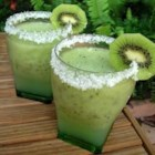 Kiwi Margarita - What do you do when you find yourself with 5 pounds of kiwis? Make margaritas! With a zippy kick-in-the-pants, this is a great new way to enjoy an old favorite.