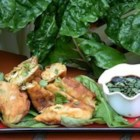 Thai Crab Rolls - Moderately spiced crab meat rolled into Thai spring roll sheets before quickly 'pan' deep-fried and dipped into a magical, tangy dipping sauce! Arrange on lettuce leaves with the dip in the center for a stunning presentation.