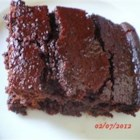 Boiled Chocolate Delight Cake - This is a wonderfully moist cake which goes very well with many kinds of sauces.