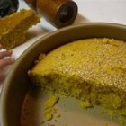 Semolina Turmeric Cake (Sfoof) - A Lebanese dessert that is not overly sweet. It is pleasing to the  American palate due to it's lack of rose water and orange blossom essence, found in most Middle Eastern desserts.  Sahteyn! (bon appetit!)