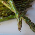 Yummy Grilled Asparagus - Grilled asparagus lightly tossed in Italian-style dressing makes a perfect summer side dish.