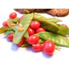 Cherry Tomato Snap Peas - This quick vegetable side dish doesn't use oil or salt, but is wonderfully flavorful with lemon and garlic.