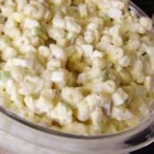 Honey-Mustard Macaroni Salad - A favorite family recipe for easy macaroni salad has the sweet and tangy flavor of honey mustard.