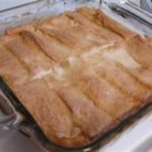 Easy Peach Cobbler II - Peach cobbler is made even easier by using white bread. An interesting twist on a delicious dessert.