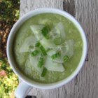 Green Gazpacho - Serve this cold no-cook soup made from honeydew melon, cucumber, and avocado as a starter or part of a light meal when it's just too hot to cook.