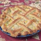 Just Another Turkey Pot Pie - Make this turkey pot pie with your leftover turkey meat and premade crusts. The homemade cream sauce is crammed full of vegetables.