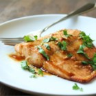 Maple Salmon - Easy baked salmon, thanks to a simple marinade starring maple syrup and soy sauce.
