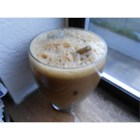 Easy Iced Cappuccino - Here is a sugar-free shortcut to a frothy cappuccino-like drink.