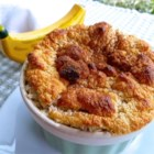 Banana Souffle - The flavors of banana, honey, and ginger combine beautifully in light, fluffy baked souffles, made in individual serving dishes.