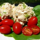 Home On The Range Tuna Salad -  We like surprises in recipes and this one has one  - tuna and cottage cheese. The end result is a creamy, creamy tuna salad that makes a great luncheon dish.
