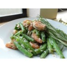 Garlic Lover's Shrimp and Green Bean Salad - Marinated shrimp and green beans come together in a garlic rosemary sauce to create an unforgettable salad. This dish is great for entertaining since it is even more delicious the next day.