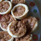 Pecan Tassies - These little tarts are a great hit - and look beautiful on a holiday tray!