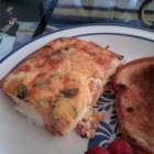 Baked Omelet - This is a great Christmas breakfast, brunch dish or company breakfast!