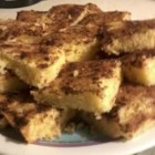 Snickerdoodle Bars - I substitute these bars for the cookies to take to picnics.