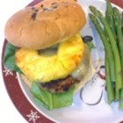 Five Spice Turkey Cheeseburgers - Grilled pineapple, ginger, and Asian five-spice seasoning lend an almost Hawaiian quality to these delicious burgers topped with gouda cheese. They use turkey as an alternative to ground beef.