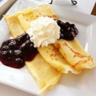 Melt in Your Mouth Crepes - These simple crepes will melt in your mouth, especially after adding cheese, berries, or lemon filling. Kids and adults  will love them!