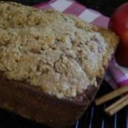 Apple Bread - Fresh apple chunks spike this quick bread sure to be a hit with the entire family.