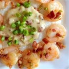 Shrimp and Grits Louisiana Style - Make luscious, creamy shrimp and grits for two with this quick Cajun-inspired recipe. It's perfect for a romantic breakfast.