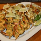 Spicy Coconut and Lime Grilled Shrimp - This recipe blends coconut and lime while adding a touch of spice with jalapeno peppers.
