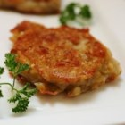 Cheesy Potato Cakes - These yummy morsels of potato are a tasty take on Irish boxty and are a great way use up leftover mashed potatoes.