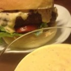 Amanda's Big Beef Sauce - Spread this piquant white sauce on grilled burgers or chicken.