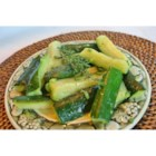 Steamed Zucchini - A quick and healthy way to make zucchini.