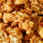 Pad Thai Popcorn - A spicy, sweet, and salty popcorn snack is inspired by the famous Thai dish, Pad Thai.