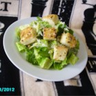 Almost Authentic Caesar Salad - Homemade croutons, romaine lettuce, and lemon juice-based dressing create this Tijuana-inspired Caesar salad in under an hour.