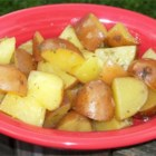 Oven Baked Parsley Red Potatoes - Fresh chopped parsley give these simply seasoned potatoes a light and bright flavor.