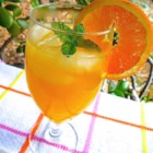 Orangeade - A refreshing 'ade' made with fresh-squeezed orange juice as well as lemon.