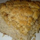 Dairy Free Cinnamon Streusel Coffee Cake - A cinnamon streusel topping makes this dairy-free coffee cake special.