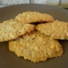 Almond Cookies II - Make gluten-free almond cookies with this quick and easy recipe calling for crispy rice cereal, rice flour, and almonds.