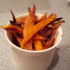LC'S Sweet Potato Fries - Sweet, savory sweet potato fries are pan-fried in olive oil with a zesty seasoning mix. It's a great way to enjoy sweet potatoes more than once or twice a year.