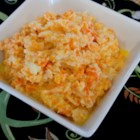 Mashed Cauliflower and Carrots - This mashed cauliflower and carrots dish is a great substitute for mashed potatoes. Simply boil the vegetables and combine with sour cream, butter, and seasoning for a quick and easy side dish.