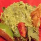 Quick and Easy Guacamole - Seasoned salt gives a different bit of flavor to this guacamole recipe.