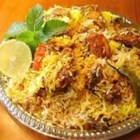 Lamb (Gosht) Biryani - This Indian lamb and rice dish is a delicious meal for dinner parties.